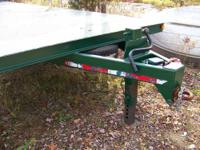 Flatbed/Deck over trailer. New Tires! 8ft X 30ft 12,000