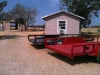 Flatbed trailers for rent. $35 a day in state only $55