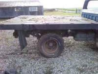 7 foot 8 wide and 9 foot 6 long Midwest flatbed Steel