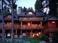 Spectacular Flathead Lake living. Gorgeous red cedar