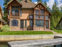 Montana Luxury on the north shore of Flathead Lake.