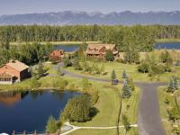 Classic Montana countryside River Estate on 10 acres