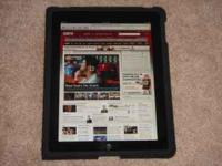 Flawless condition iPad 1 wifi 64gb with apple cover