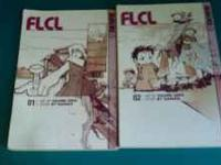FLCL Parts 1 & 2 , come from a pet & smoke free home.