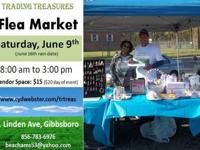 Trading treasures, 'flea market' style!To provide a