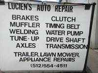 ** FLEET MOTOR VEHICLE REPAIR WORK ** I fix ALL makes