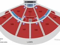 I have the following tickets available:   Floor F Row 4