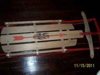 "48"" Flexable Flyer Runner Sled in Very Good Condition"