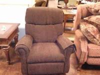 New Flexsteel Recliner...Chocolate Brown...$399...Dixie