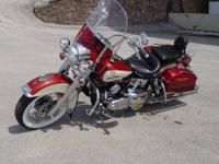 This is a fully restored, FLH 80 Harley Davidson from