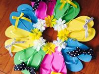 "Brier Creek--New, handmade, 24"" diameter Flip-Flop"