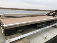 Floating Dock 8' x 20' BRAND NEW - Plastic Decking