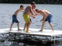 We sell Floe brand docks. Ask about our pre-season