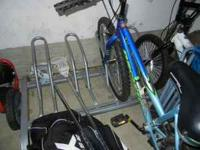 Get the bikes all in 1 place or keep them outside. This