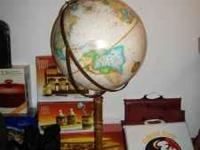 16 inch diameter floor globe very nice $50 obo if
