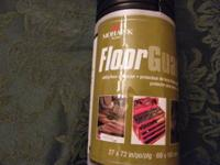 This product is used to protect floors from scratches,