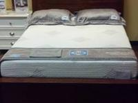 Floor Model Full size wood bed $268 puls tax made by