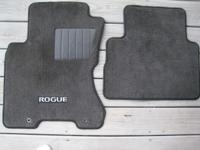 4 OEM Floor Mats for Nissan Rogue (2 front mats and 2