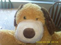 FLOPPY DOG STUFFED ANIMAL - A VERY CUTE TOY - LIGHT