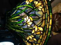 This listing is for a floral Tiffany lamp. Please look