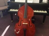 Florea upright 1/2Bass new with bow and case This ad