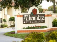 I I own a timeshare in Florida, Alhambra at Poinciana