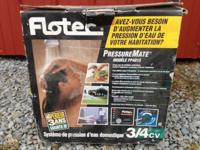 Flotech Pressure Mate Booster pump! Works great, used a