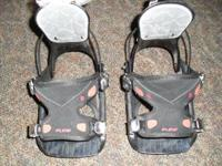 Flow snowboard bindings, small, $50. At Get n Gear in