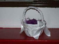 Flower girl basket for $15 retail price $24.99 CALL -
