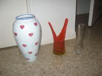 I have three vases, just making room in my house....