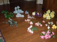 Create your own flower arrangements. I have several