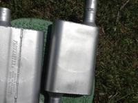 selling a pair of Flowmaster 40 series mufflers. These