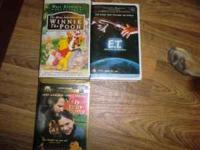 Fly Away Home Winnie the Pooh ET VHS Tapes 1.50 a