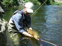 Newbie Fly Angling class every Sunday at 10:00 am.