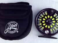 Abel Super 4 Large Arbor Reel $300.00 New Condition