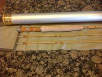 New custom built Split Cane Bamboo Fly Rod, 2 piece, 2