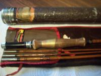 This fly rod was made between 1933 - 1939. It has 3