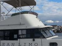 Up to 40' boat flybridge 4 sale. Complete top, SS