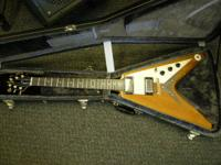 Flying V, now on consignment. I am having Rick's Songs