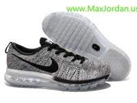 Online sale flyknit air max grey black color
