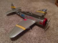 Hey there I have a FMS p47 rc aircraft that flies
