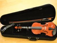 This model 12 violin is normally rented out to students