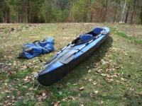 Folbot Greenland II folding kayak is an expedition