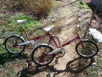 I have two Auto-mini folding bicycles with land-rover