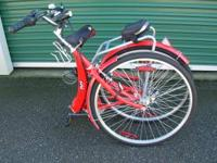 Folding Bicycle for an apartment or small trailer. It