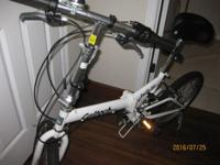 Cultech folding bike in a very good condition.