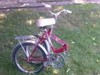 I am selling a folding bicycle its called an Auto-Mini