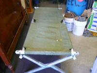 Folding Camp Bed Army Military Hunting Camping Cot