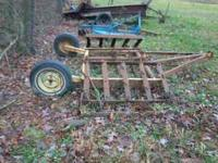 Folding Harrow, if interested call  Location: Garrison,