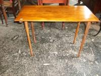 Great early sewing table... yard markings on